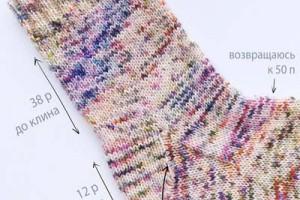 Інструкція з в'язання шкарпеток