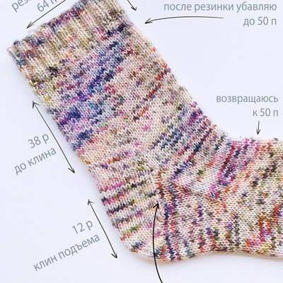 Инструкция по вязанию носков>