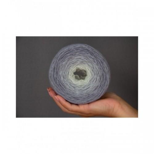 Пряжа Almerino градиент *Gray gradient