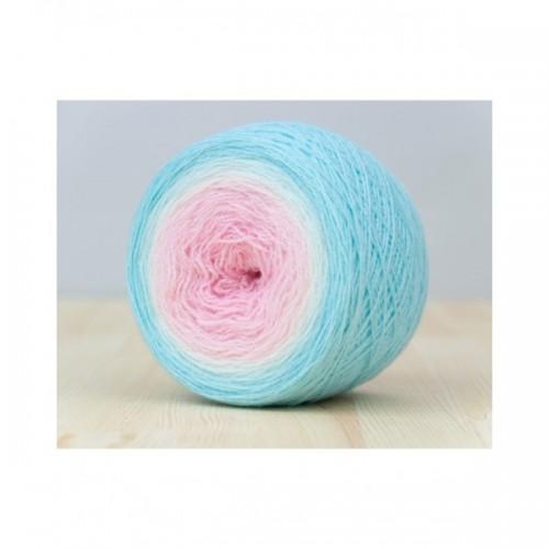 """Lace """"Soft"""" . Пряжа градиент из мериносовой шерсти"""