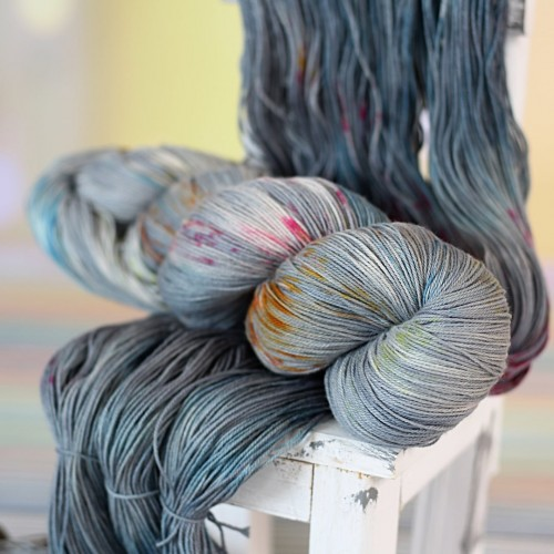 Пряжа Cotton Lace *Серый
