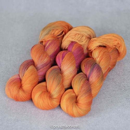 Пряжа Cotton Lace *Фрезия