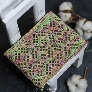 Пряжа Cotton Lace *Нежный пион
