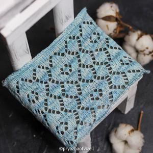 Пряжа Cotton Lace *Небесно-блакитний