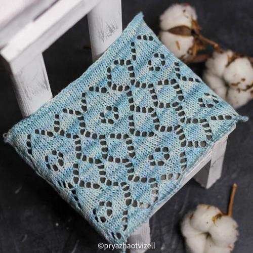 Пряжа Cotton Lace *Небесно-голубой