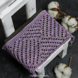 Пряжа Cotton Lace *Туманная глициния