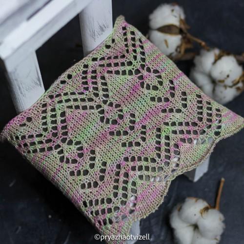 Пряжа Cotton Lace *Цветочный чай