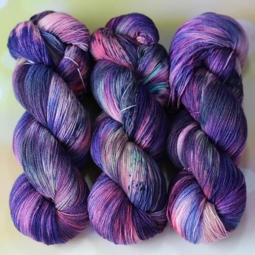 Yak Merino цвет Фиолетовый луг