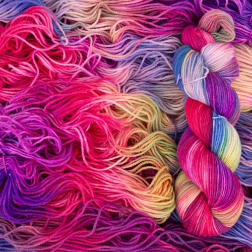 Пряжа Almerino *Rainbow