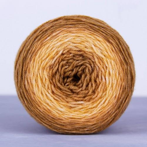 Цвет-градиент для вязания шапок, бактусов и парных аксессуаров