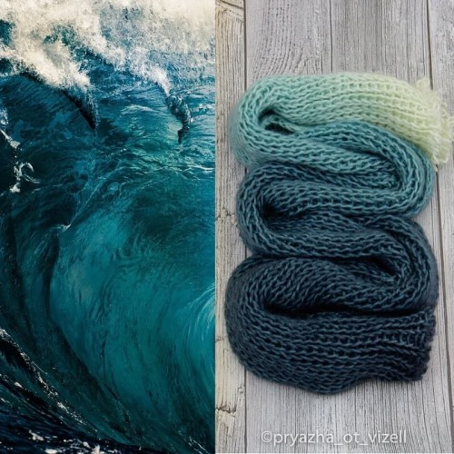 Градиент Sock *Морская волна
