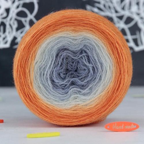 Сіро-помаранчевий градієнтний