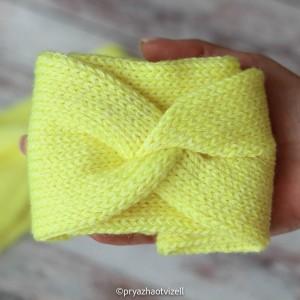 Пряжа Кабле Акварель *Лимонный