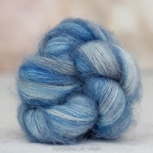 Пряжа KidLace *Блакитна димка