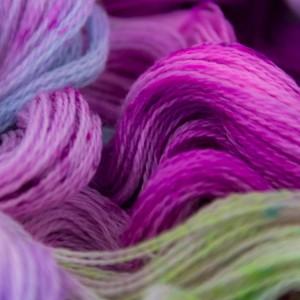 Яркий и свежий цвет пряжи Lace *Bouquet