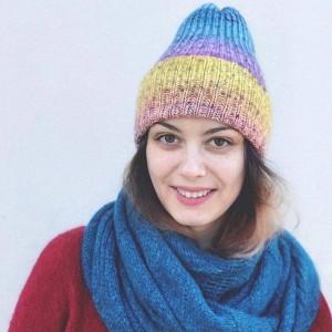 Mavka Joy - пряжа для вязания стильных аксессуаров