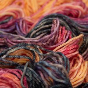 Mavka Orangegrad - эксклюзивный цвет пряжи для аксессуаров