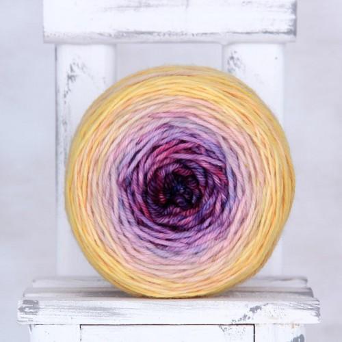 GrNoRepeat09192 - градиентная пряжа из мериносовой шерсти