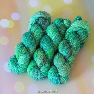 Пряжа Sock *Оттенки зеленого