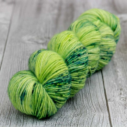 Пряжа Sock *Green Clap