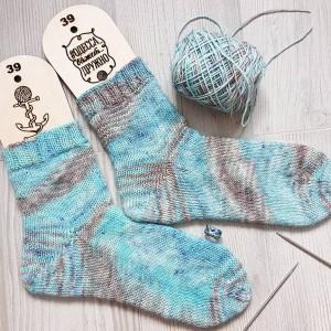 Пряжа Sock *Blue Dune