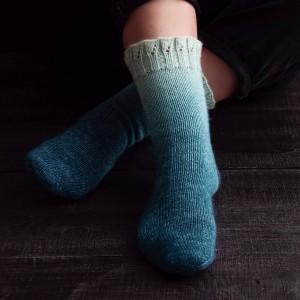 Градиент *Морская волна Sock